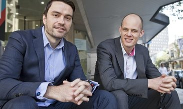 Flexcareers founders founders marko njavro and joel mcinnes