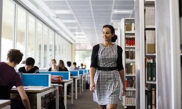 University librarian