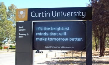 Curtin university in bently wa
