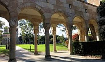 220px covered walkway at the southern edge of the great court at the university of queensland july 2015