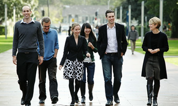 Unsw staff on campus