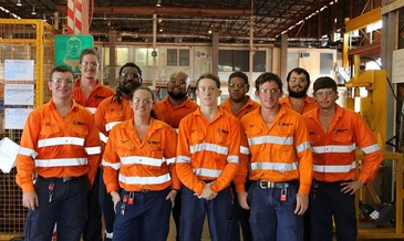 Weipa apprentices
