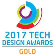 Award tech design gold 2017