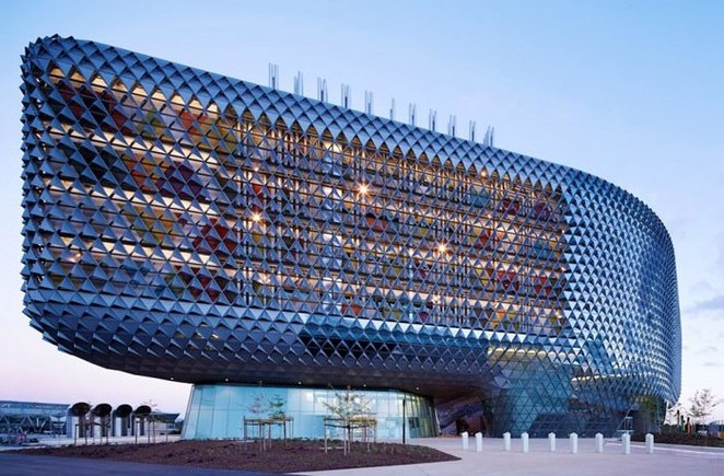 Sahmri by woods bagot 2