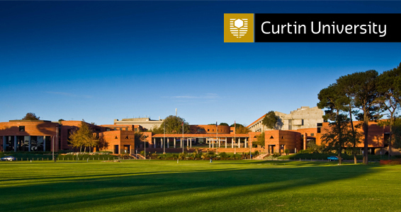 Curtin view logo